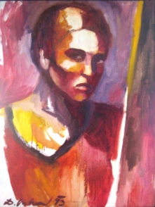 selfportrait - oil painting