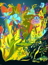 Fantastic garden IX