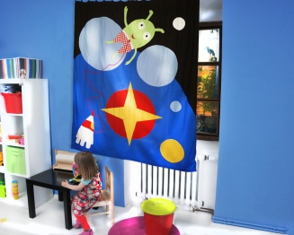 curtain for kids