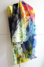Princess - extra large silk scarf