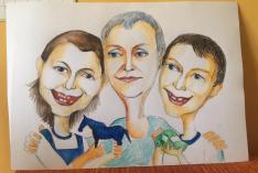 Portrait with children