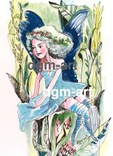 Fairy-blue